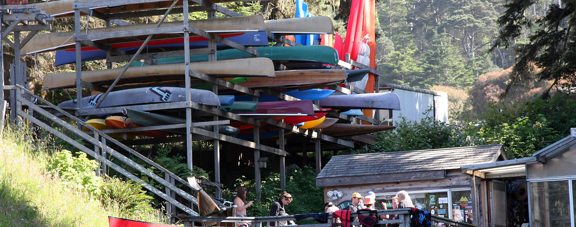 mendocino big river boat and bicycle rentals catch a canoe at stanford inn by the sea
