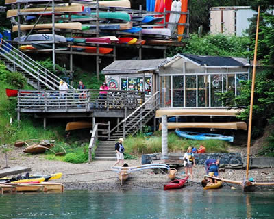 Catch A Canoe & Bicycles, Too! Mendocino Big River at the Stanford Inn by the Sea
