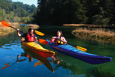 kayak big river mendocino