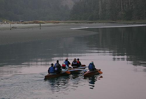 canoe big river mendocino