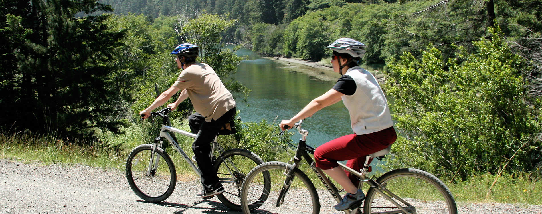 mountain bike big river trail mendocino ca