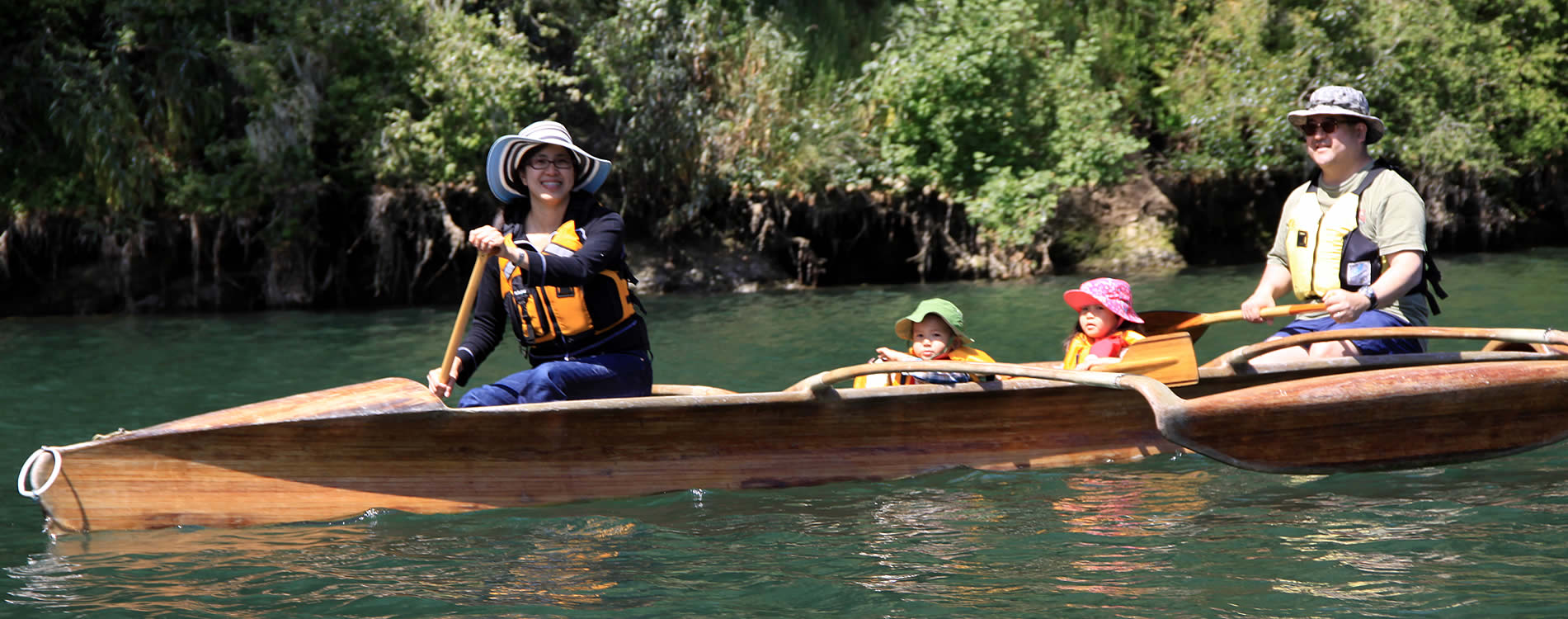 family outrigger big river mendocino