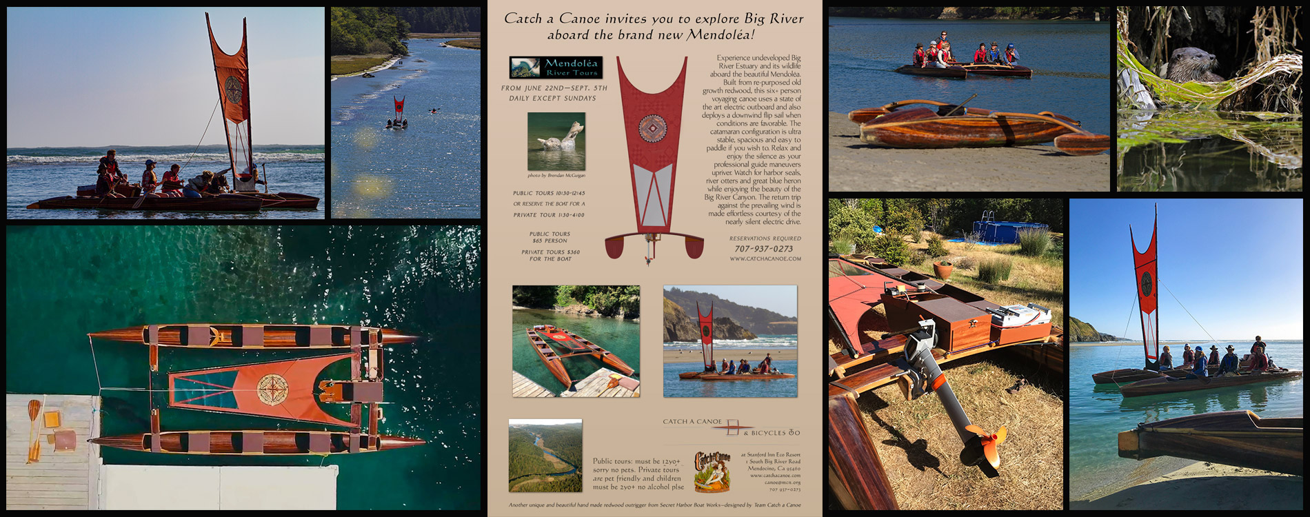 catch a canoe guided tour artwork